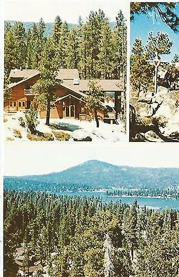 Big Bear Lake CA Sacred Heart Retreat Camp Postcard (Sacred Heart Retreat Camp Big Bear Lake)
