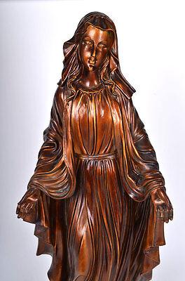 XL Heilige Maria Madonna *82 cm* Heiligenfigur große Statue Engel
