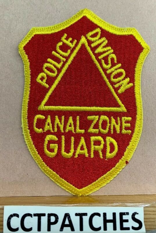CANAL ZONE, PANAMA GUARD POLICE DIVISION SHOULDER PATCH
