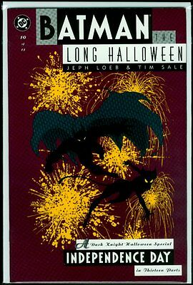DC Comics BATMAN The Long Halloween #10 Catwoman Independence Day NM- 9.2](Catwoman The Long Halloween)