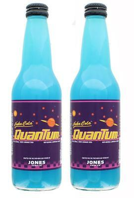 Fallout 4 Nuka-Cola Quantum Jones Soda - 12oz Berry Flavored Drink - 2-Pack