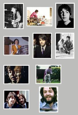 10 rare Paul McCartney Fotos 18x24cm, Set 2, Beatles, Konzert, Tour