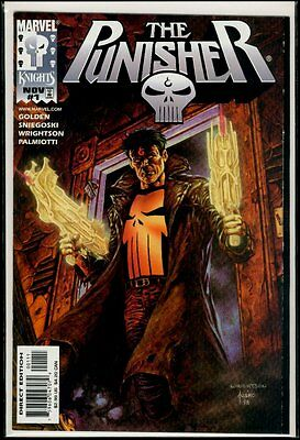 Marvel Comics Marvel Knights The PUNISHER #1 NM 9.4