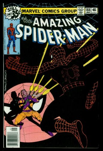 Marvel Comics The Amazing SPIDER-MAN #188 Jigsaw NM 9.4