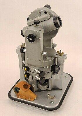 Vintage Sokkisha Lietz Gt60 Transit Survey Theodolite With Case Compass Plumb