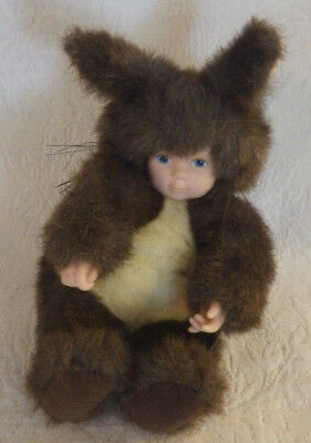Anne Geddes Baby in Squirrel Costume Plush Stuffed Animal Toy 9