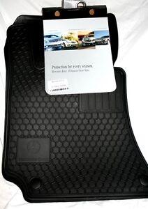 Mercedes Rubber Floor Mats Ebay