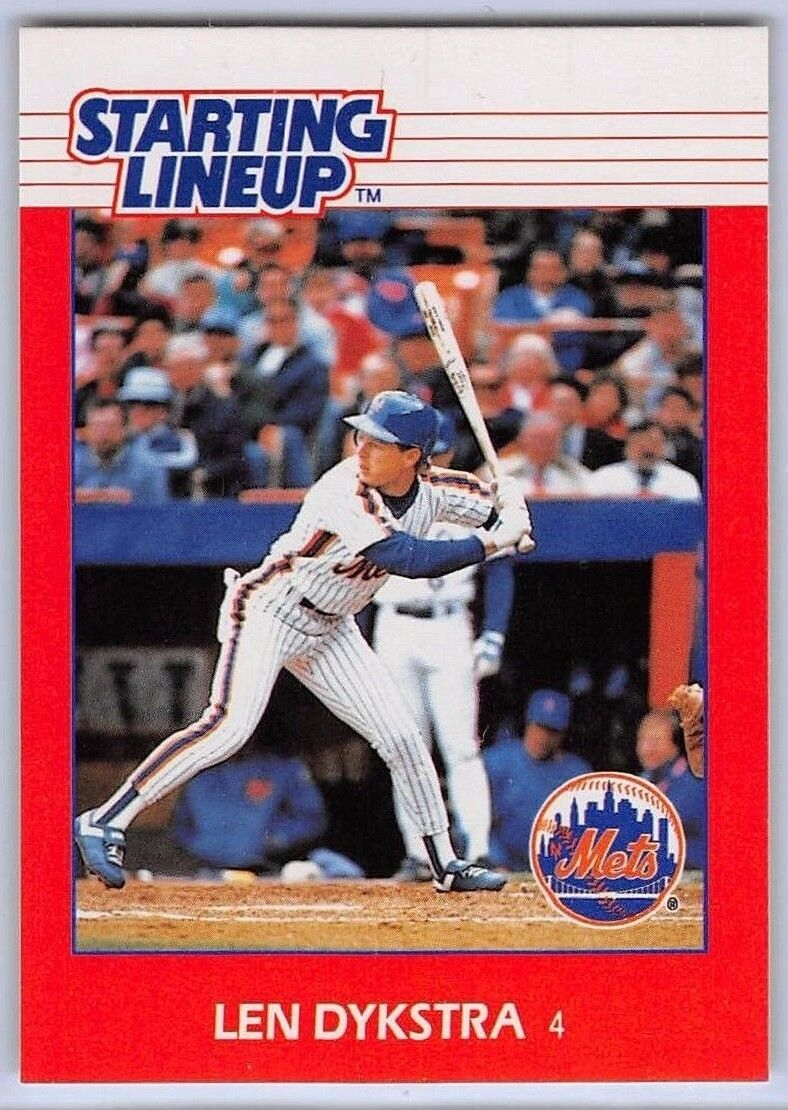 2 ⚾ 1990 Starting Lineup-Slu-MLB-Dwight Gooden-New York Mets