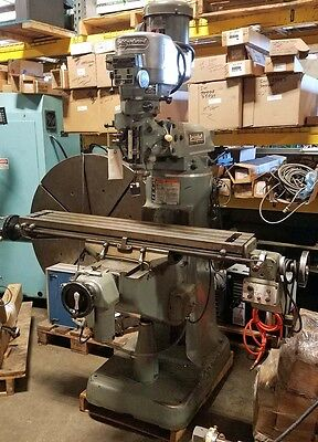 Bridgeport Variable Speed Milling Machine Inv.20320