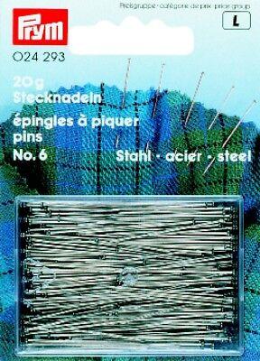Alfileres de Acero Protección contra el Óxido Nr. 6 Extra Fina 024293