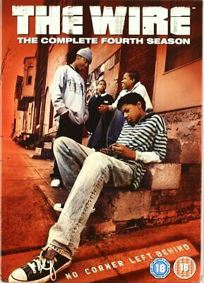 The Wire:Complete Fourth Season/Series DVD 5disc boxset7321902173429Dominic West (The Wire Season 6 Dvd)
