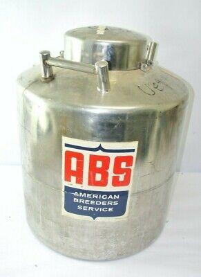 Abs Nd-1 Liquid Nitrogen Storage Tank Dewar - 50 Gallons