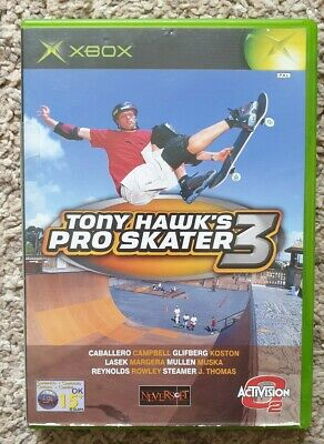 Tony Hawk's Pro Skater 3 (Microsoft XBox-2002) PAL Edition