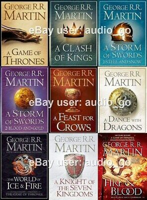 A Song of Ice and Fire (A Game of Thrones) Audiobooks