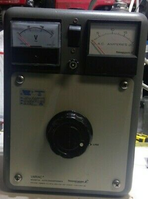 General Radio W20mt3a Dual Analog Metered Variac Auto Transformer