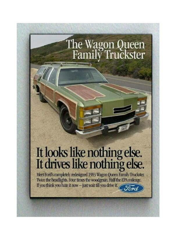 Framed National Lampoons Vacation Ford