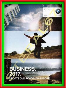 DVD-CD-BMW-ROAD-MAP-EUROPE-BUSINESS-2017-MAPPE-NAVIGATORE-NAVIGAZIONE-MAPPA
