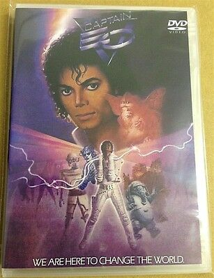 MICHAEL JACKSON - CAPTAIN EO - THE MOVIE (1986 DVD)