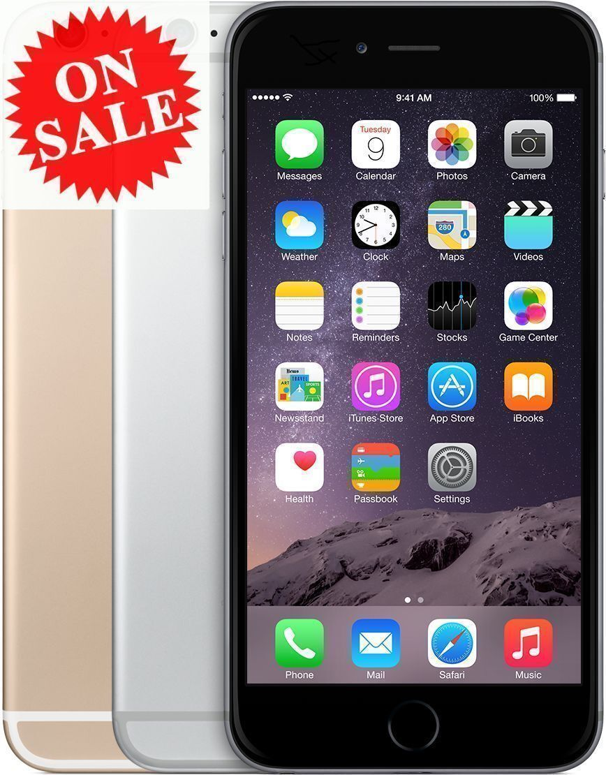 Apple Iphone 6 (Factory Unlocked) Verizon At&T T-Mobile Sprint 16gb 64gb 128gb