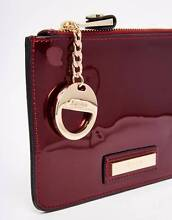Dune London Kimanne Purse/Clutch/Pouch in Berry Patent Burswood Victoria Park Area Preview
