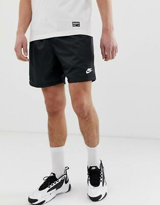 Nike Fashion Shorts (SHORT NIKE AR2382-010 UOMO MODA FASHION SPORTWEAR LIFESTYLE BLACK)