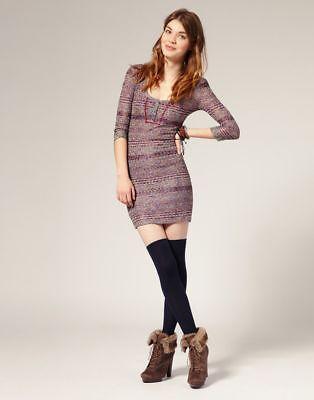 Free People Sunrise Knit Dress Size XS