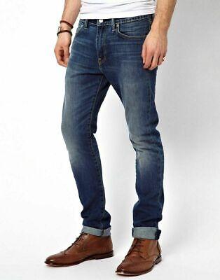 Levis 512 New Men Skinny Slim Fit Tapered Original Jeans Black Blue Denim Cotton