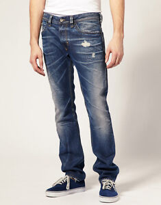 Diesel-Jeans-Thavar-8NE-New-With-Tags-Original-Retail-300