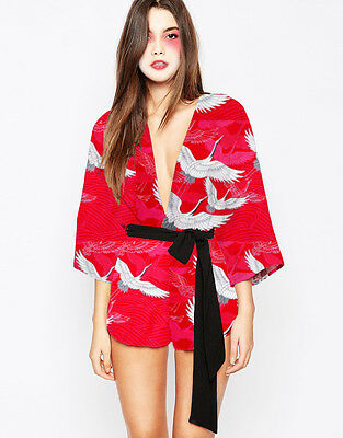 12/14/16 Geisha Girl Costume Japanese Chinese Oriental Kimono Ladies Fancy Dress - Chinese Geisha Costume