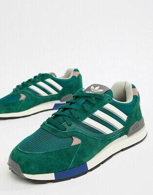adidas Originals Quesence Mens Trainers Green B37851 SIZE 8 11 UK