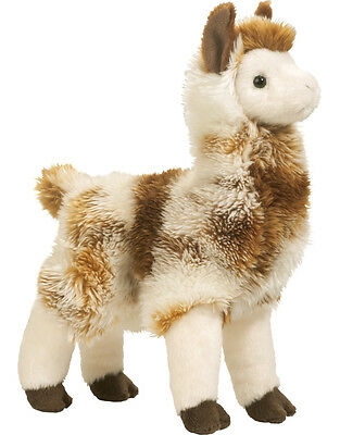 "Douglas LIAM LLAMA Alpaca Plush Toy Stuffed Animal 11"" Soft Cuddle Toy Child NEW - Llama Stuffed Animal"