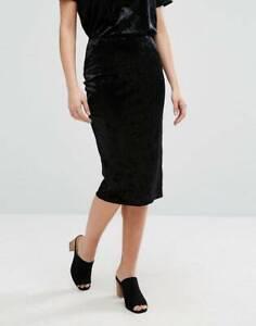 ASOS Black velvet pencil skirt Adelaide CBD Adelaide City Preview
