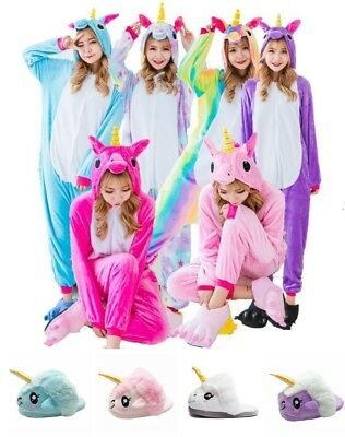 Cute Cartoon Unicorn One/sie2 Sleepwear Animal Costume Cosplay Pyjamas - Cute Unicorn Costume