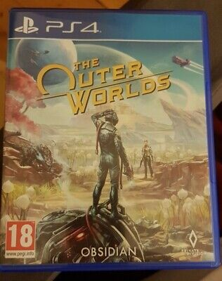 The Outer Worlds (Sony PlayStation 4, 2019) USED for sale  Shipping to Nigeria