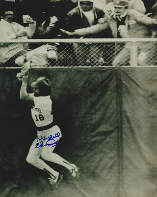 1982 Brewers Marshall Edwards Signed 8X10 Photo Auto Autographed Milwaukee