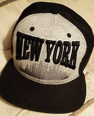 NEW YORK HAT / CAP = NEW NO TAGS = FREE P&P !!! RRP 30£