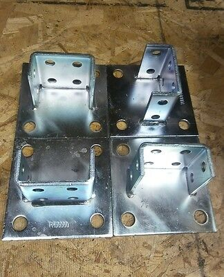 Unistrut Post Base P2073a Sq 4pcs