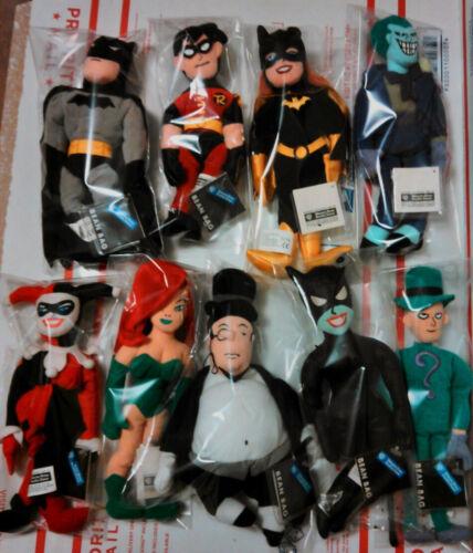 BATMAN WARNER BROS STUDIO STORE EXCLUSIVE PLUSH BEANIES Harley Quinn JOKER NWT