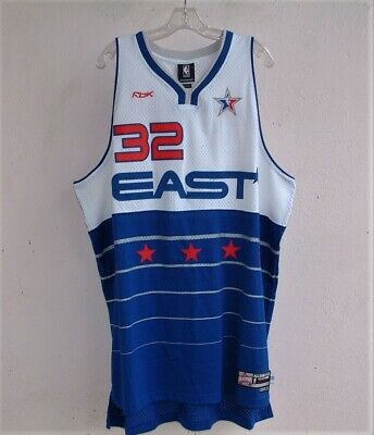 2006 SHAQUILLE SHAQ O'NEAL HEAT NBA ALL-STAR REEBOK BASKETBALL JERSEY 2XL + 2