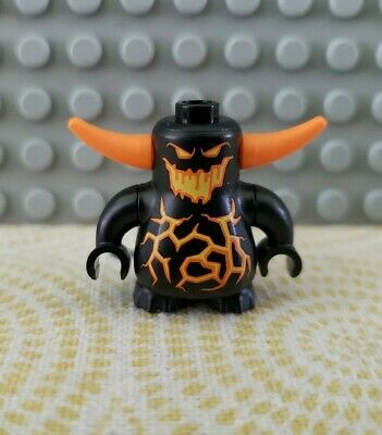 LEGO Nexo Knights Minifigure: Black Scurrier (#70323: Jestro's Volcano Lair)