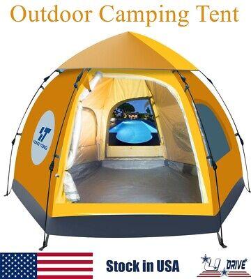 5-6 People Waterproof Instant Pop Up Tent Automatic Outdoor