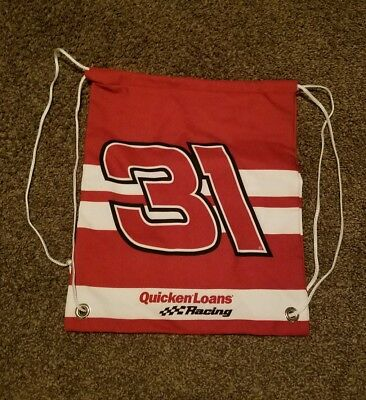 Ryan Newman Quicken Loans  31  Nascar Drawstring Bag New