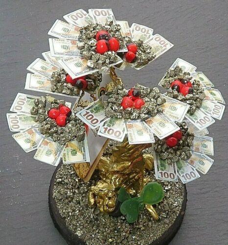 Handmade Money Tree 5