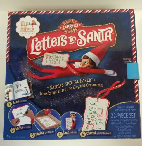 ❤️ Elf on The Shelf Letters to Santa ❤️