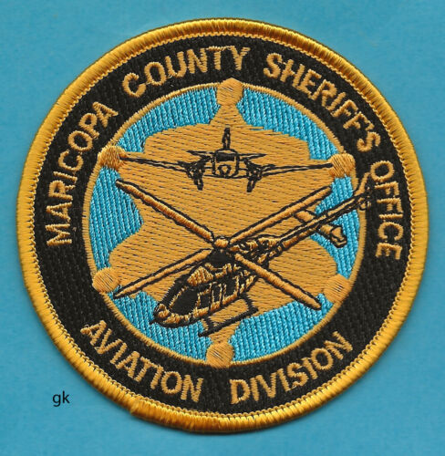 MARICOPA ARIZONA SHERIFF AVIATION DIVISION POLICE SHOULDER PATCH
