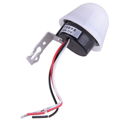As20 Dc 12v 10a Light Sensor Auto Control Switch Street Road Day Off Night On Wh