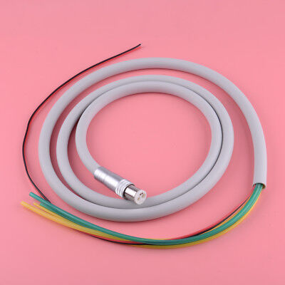 Dental Silicone Tubing Hose For Air Turbine High Speed Handpiece 6 Hole Optic