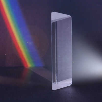 3 Triangular Prism Optical Spectrum Glass For Photography Teaching Experiment