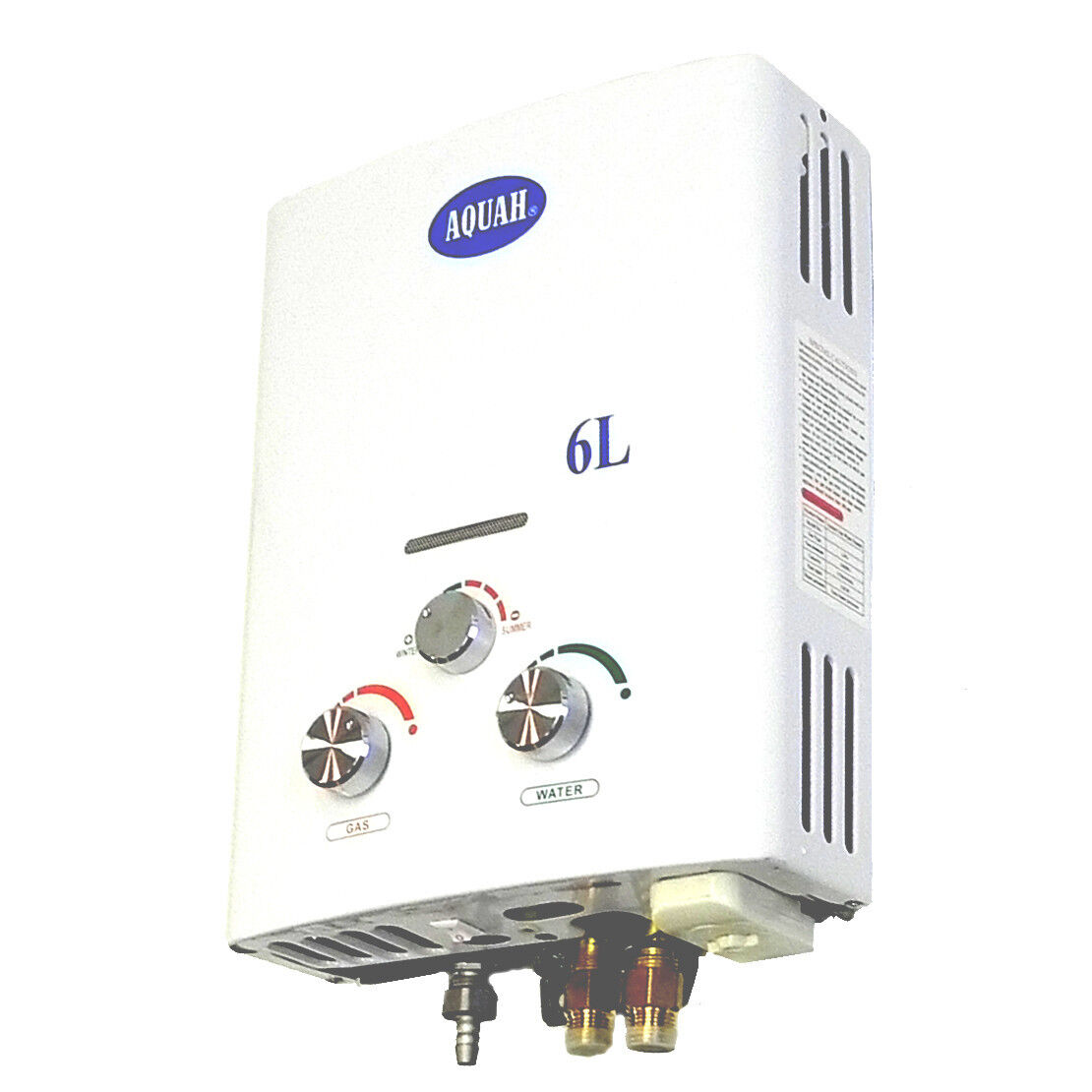 Aquah Outdoor Portable Propane Tankless Gas Water Heater 6l Up To 2 0 Gpm Ebay