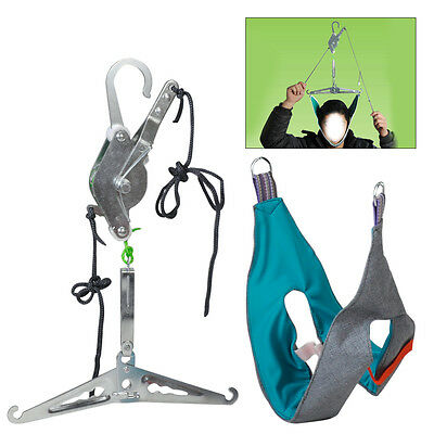 Over Door Neck Cervical Traction Stretch Gear Brace Kit Pain Relief Head Health ()